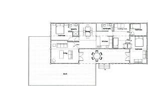 floor plans for long house design homes