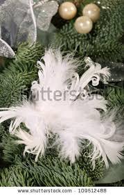 eucalyptus christmas wreath hung on black stock photo 122730373