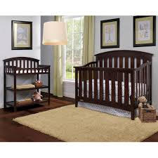 Graco Crib With Changing Table Graco Changing Table Choose Your Finish Walmart Com