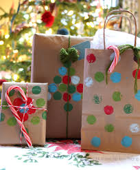 christmas wrap bags recycled paper bag gift wrap ideas