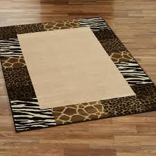 Zebra Print Throw Rug Zebra Brown Rug Roselawnlutheran