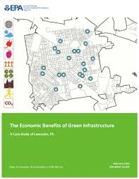 Map Of Lancaster Ohio by Green Infrastructure Valuation In Lancaster Center For