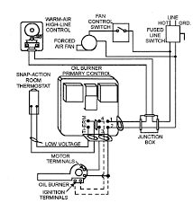 oil furnace wiring thermostat wiring diagram simonand