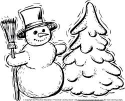 january coloring pages for kindergarten preschool winter coloring pages free preschool winter coloring