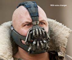 Batman Bane Halloween Costume Dark Knight Rises Tom Hardy Bane Mask Voice Changer