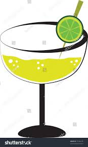 margarita glass cartoon margarita stock illustration 71094145 shutterstock
