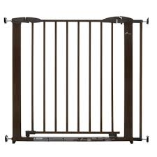 Large Pressure Mounted Baby Gate Dreambaby Brighton 29 In H Pressure Mounted Gate L879 The Home