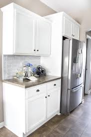 How To Distress White Kitchen Cabinets How To Paint Kitchen Cabinets Like A Pro Bless U0027er House
