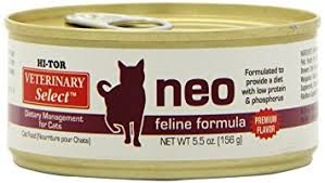 amazon com hi tor neo diet for cats 24 5 5 oz cans canned wet