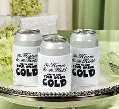 koozie wedding favor wedding favors roselawnlutheran