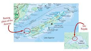Lake Superior Map Looking For The America The Life Death And Afterlife Of A