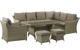 bramblecrest fullerton modular sofa with rectangle casual dining