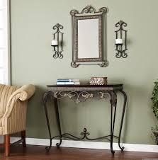 Entryway Accent Table Decorate Entryway Mirror Style Dans Design Magz