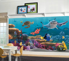 finding nemo prepasted xl sized wallpaper mural disney xl murals products images