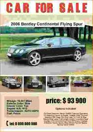 car for sale template car for sale 1 poster template jpg pay