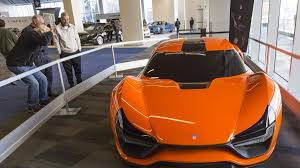 hyundai supercar nemesis trion nemesis wows the crowd at the silicon valley auto show
