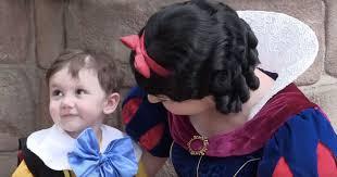 2 autistic boy fell love sight snow white