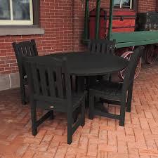 Overstock Com Patio Furniture Sets - lehigh 5pc round dining set outdoor furniture patio furniture