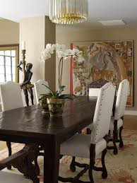 new york table candle chandelier dining room eclectic with ceiling