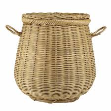 Dark Brown Laundry Hamper by Articles With Wicker Laundry Hamper Australia Tag Wicker Baskets