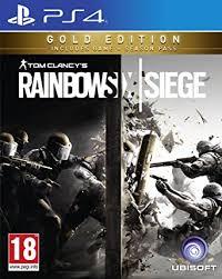 Buy Rainbow Six Siege Gold Rainbow Six Siege Gold Ps4 Amazon Co Uk Pc