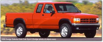 1990 96 Dodge Dakota Consumer 1996 Dodge Chrysler Plymouth And Jeep Changes