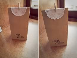 wedding goodie bags diy paper bag wedding favors