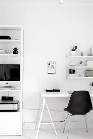 Home Decor Black And White Black And White Workspaces Workspaces Black And Minimal