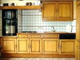 repeindre meuble cuisine chene meuble de cuisine en chene massif gallery of meuble cuisine en chene