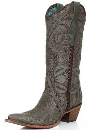 womens boots 25 s turquoise engraved lace cowboy boots