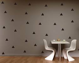 wall stickers australia nursery kids wall decals removable vinyl triangle pattern wall sticker
