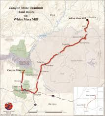 The Wave Arizona Map by Grand Canyon Uranium Mine Set To Re Open Grand Canyon Trust