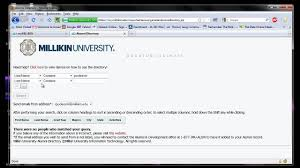 alumni directory software millikin alumni directory portlet