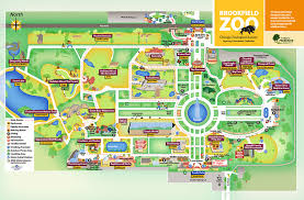 chicago zoo map chicago zoological society zoo map