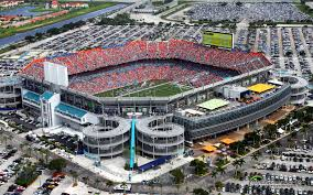 Metlife Stadium Floor Plan by Hard Rock Stadium Miami Dolphins Football Stadium Stadiums Of