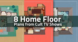 8 home floor plans from cult tv shows nerd hq 8 home floor plans from cult tv shows nerd hq