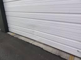 garage door bottom weather seal garage door bottom seal and track