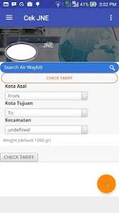 Cek Resi Jne Cek Resi Jne App Report On Mobile