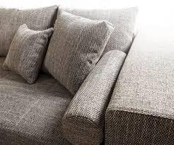 couch mit hocker couch marbeya hellgrau 290x110 cm mit schlaffunktion hocker