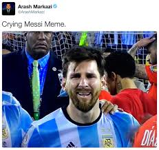Funny Messi Memes - crying messi know your meme