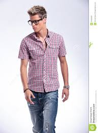 casual man walking to you stock photo image of male 31022202