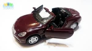 lexus sc430 logo series of unboxing and presenting diecast cars part nine 9
