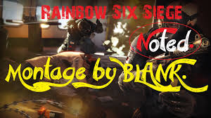 rainbow six siege montage called