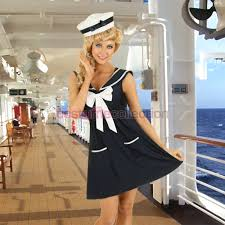 50s pin up halloween costumes pin up 1950s sailor costume