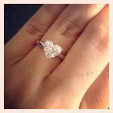 heart shaped diamond engagement rings the best celebrity engagement rings lorraine schwartz taylor