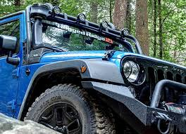 jeep yj snorkel jeep wrangler snorkels by rugged ridge