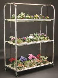 Indoor Garden Supplies - ga3 seedling cart 4 ft 3 shelf plant stand u2013 indoor gardening supplies