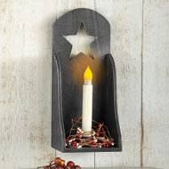 Sconce Candle Glass Wall Sconce Candle Holder From Collections Etc
