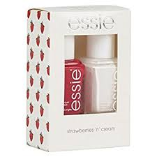 essie original nail polish gift sets strawberries and cream duo