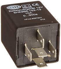 amazon com hella 996152131 12 volt 5 pin 0 900s delay off time
